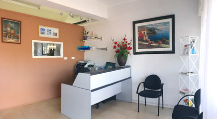 Silkstone Denture Clinic reception and waiting room