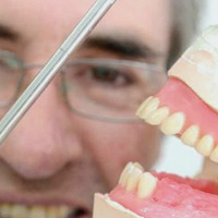 Member of our dental prosthetics team in Silkstone